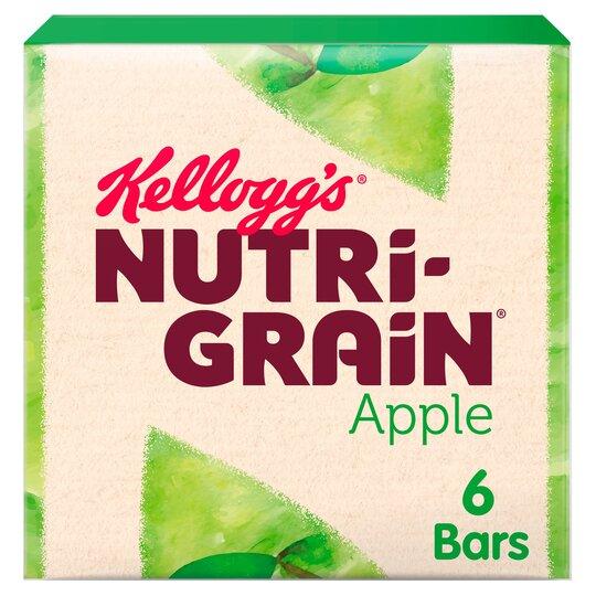 Kelloggs Nutrigrain Apple 6X37g