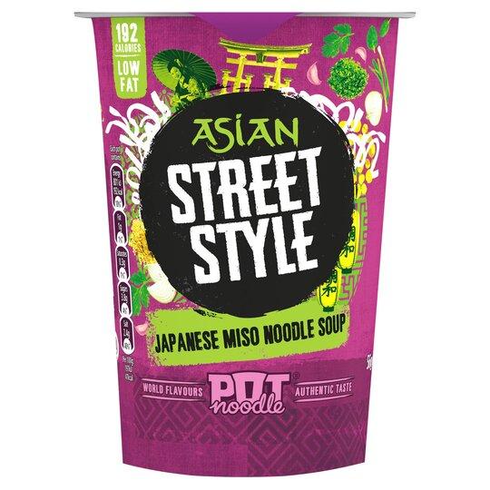 Pot Noodle Asian Street Style Miso Soup 56G