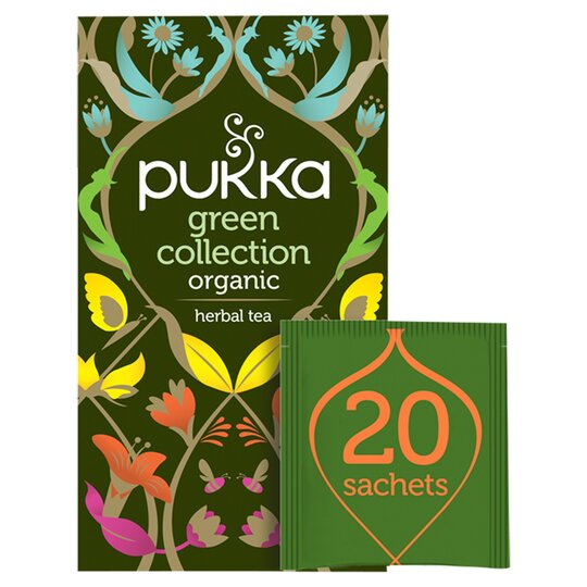 Pukka Organic Green Tea Collection 20 Tea Bags 30G