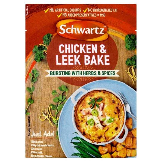 Schwartz Creamy Chicken & Leek Bake 35G