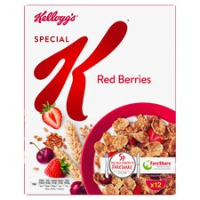 Kelloggs Special K Red Berries Cereal 360G