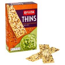 image 1 of Ryvita Multiseed Thins 125G