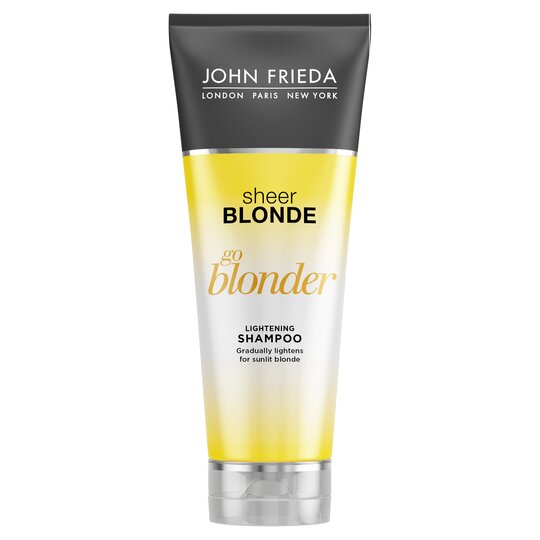John Frieda Shampoo Go Blonder Shampoo 250Ml