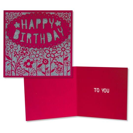 Tesco Birthday Card Happy