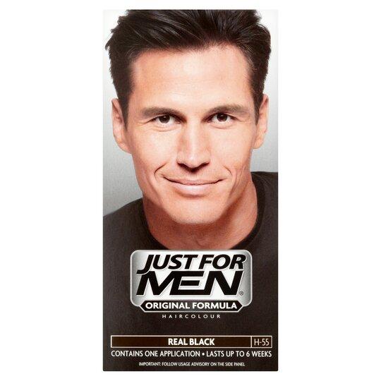 Just For Men Hair Colourant Real Black - Tesco Groceries