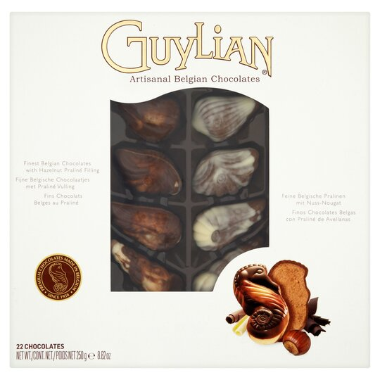 Guylian Seashells Boxed Chocolates 250G