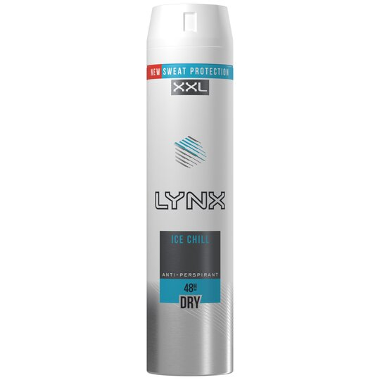 Lynx Ice Chill Antiperspirant Deodorant Spray 250Ml