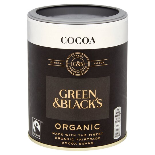 Green & Blacks Organic Cocoa Fair Trade 125G