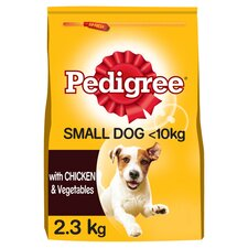 image 1 of Pedigree Small Dog Dry Food Chicken 2.3Kg