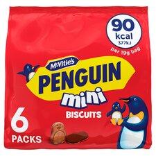 image 1 of Mcvities Penguin Mini Biscuit 6 X 19G