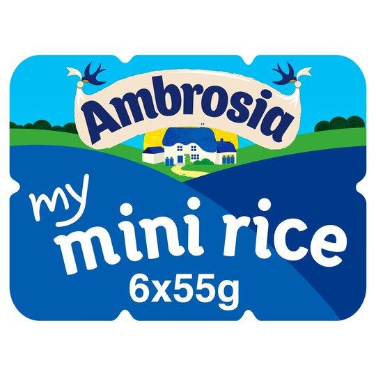 Ambrosia Rice Minis 330G