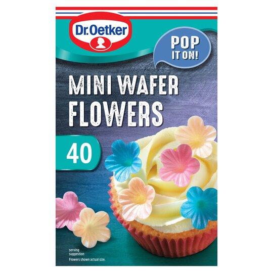 Dr Oetker Wafer Flowers 40'S