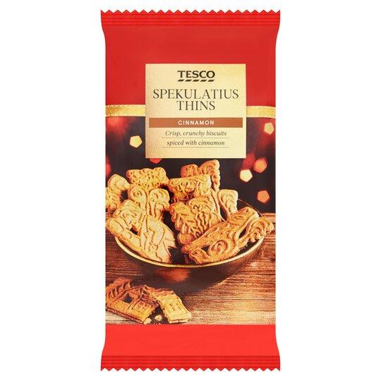 Tesco Spekulatzius Cinnamon Biscuit 200g