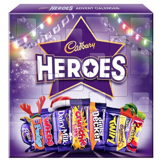 Cadbury Heroes Advent Calendar 230G
