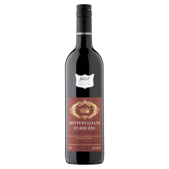image 1 of Tesco Finest Montepulciano D'abruzzo 75Cl