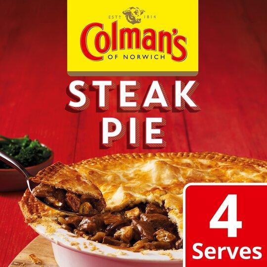 Colman's Steak Pie Recipe Mix 40G - Tesco Groceries