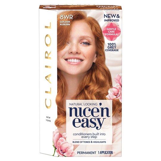 Clairol Nice 'N Easy Golden Auburn 8Wr Hair Dye
