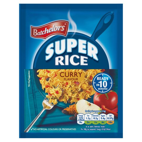 Batchelor's Super Rice Curry 100G