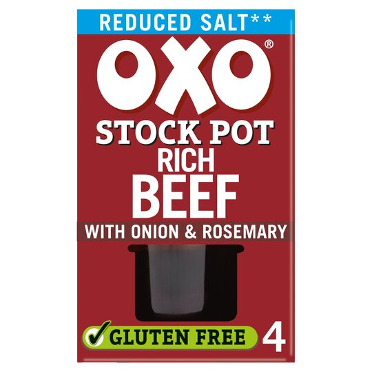 image 1 of Oxo Stock Pot Reduced Salt Beef 80G