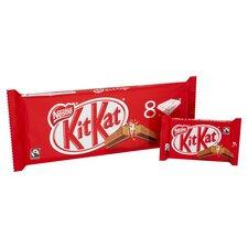 image 2 of Kit Kat Milk Chocolate Bar 4 Finger 41.5G X 8 Pack