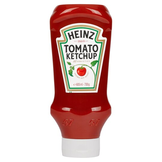 Heinz Top Down Squeezy Tomato Ketchup Sauce 700G