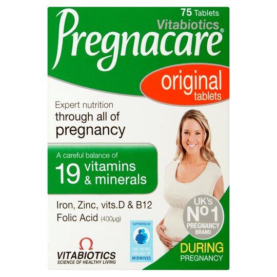 Vitabiotics Pregnacare 75'S