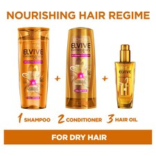 image 2 of L'oreal Elvive Extraordinary Oil Dry Hair Conditioner 300Ml