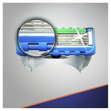 image 3 of Gillette Fusion Proglide Power Razor Blades 8 Pack