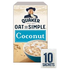 Quaker Oat So Simple Coconut Porridge 10X 33G