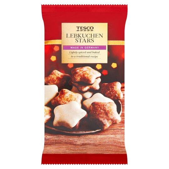 Tesco Lebkuchen Stars 250g Tesco Groceries