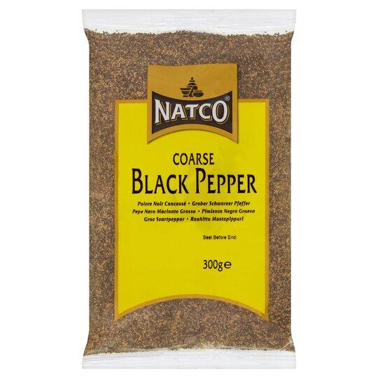 Natco Black Pepper Coarse 300G