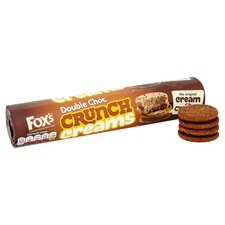 image 2 of Fox's Double Chocolate Crunch Creams 230G