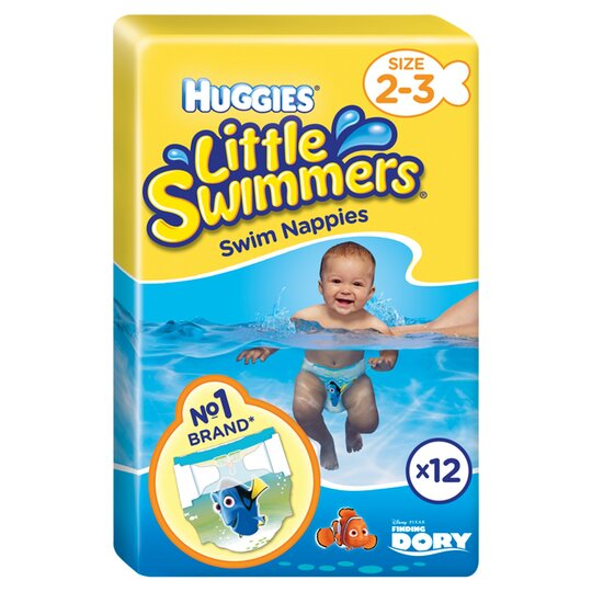 Huggies Little Swimmers Size 2-3 3-8Kg 12 Pants