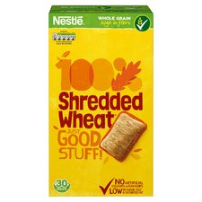 image 1 of Nestle Shredded Wheat Cereal 30 Pack 675G