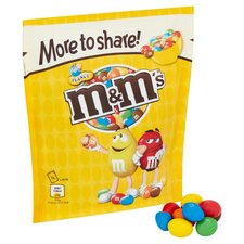 image 2 of M&M Peanut More To Share Pouch 268G