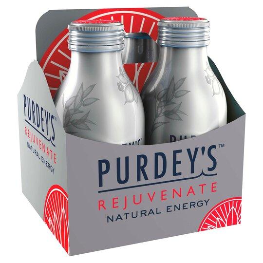 Purdey's Rejuvenate 330Ml 4 Pack