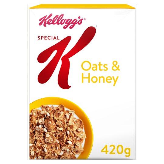 Kellogg's Special K Oats & Honey 420G