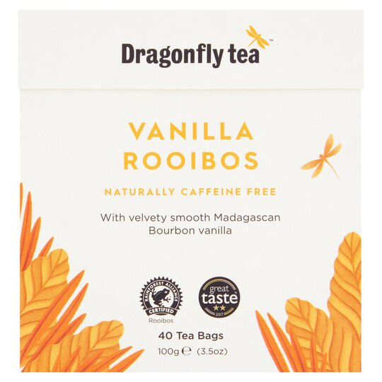Dragonfly Rooibos Vanilla Tea 40'S 100G