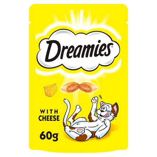 image 1 of Dreamies Cat Treats With Cheese 60G