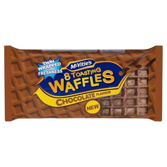 Mcvitie's 8 Toasting Waffles Chocolate 200G