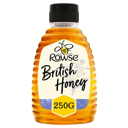 Rowse Squeezy British Honey 250G