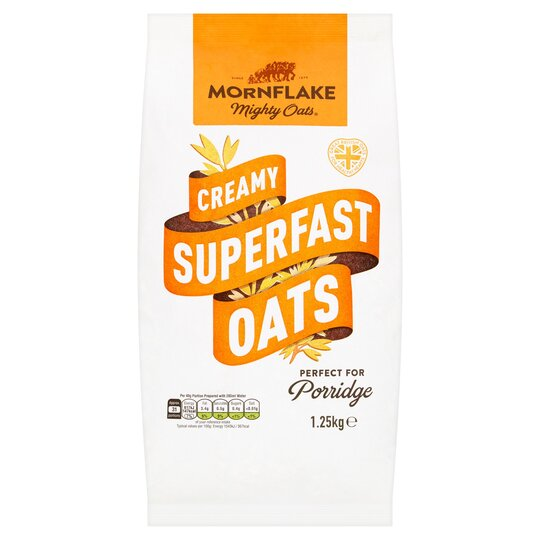 Mornflake Mighty Creamy Superfast Oats 1.25Kg