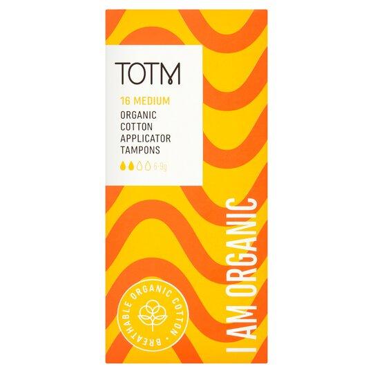 Totm Applicator Tampons Regular 16