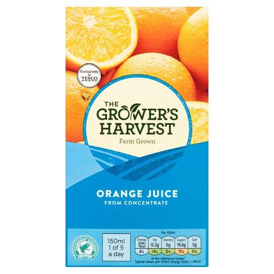 Grower's Harvest Orange Juice Smooth 1 Litre