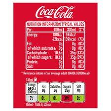 Coca Cola Regular 24 X 330 Ml Pack