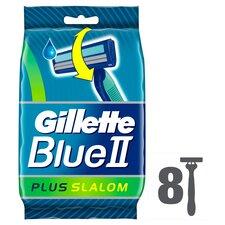 image 1 of Gillette Blue 2 Slalom Disposable Razors 8 Pack