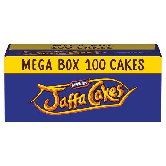 Mcvitie's Jaffa Cakes 100 Box