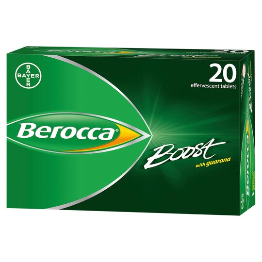 Berocca Boost Effervescent Vitamin Energy Tablets 20S