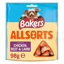 image 1 of Bakers Allsorts Pack 98G