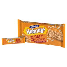 image 2 of Mcvities Hobnobs Oaty Flap Jack 5 Pack 148.5G